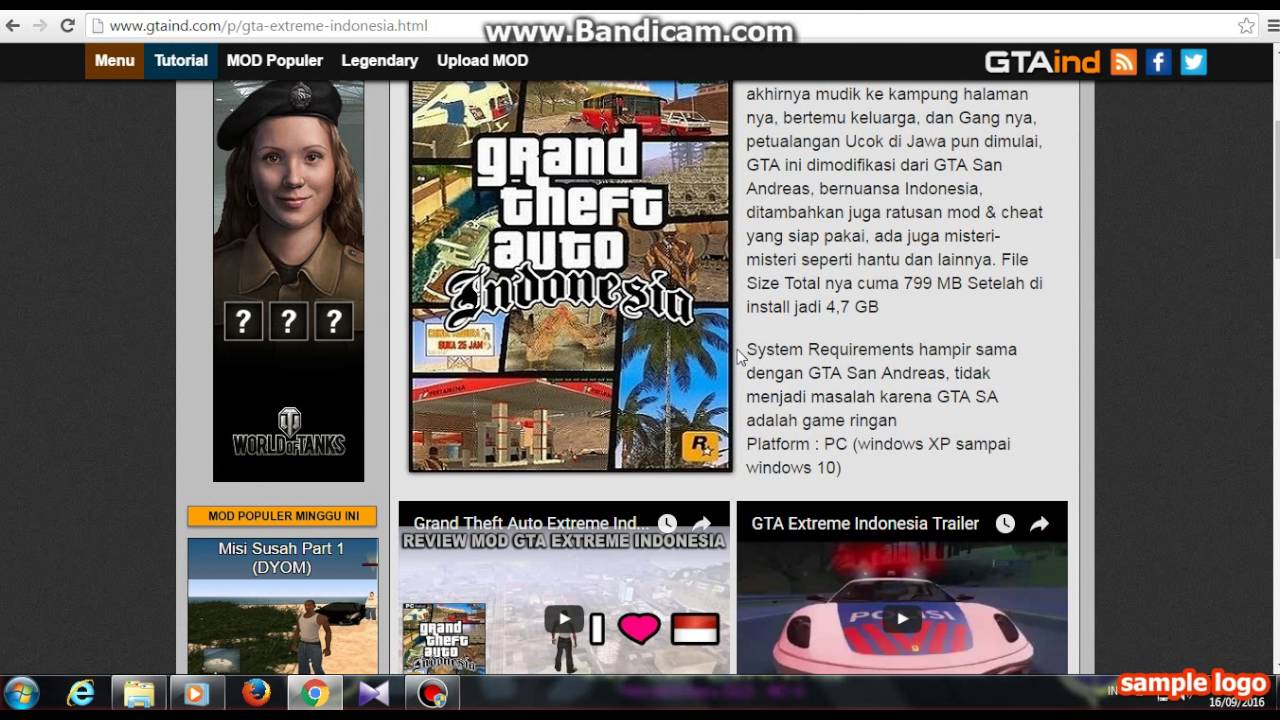 download game gta extreme indonesia mod pc