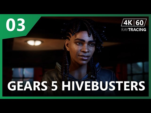 Gears 5 Hivebusters - A chapa esquenta na campanha [parte 3] - Xbox Series X [4K60fps] - RAYTRACING