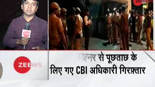 CBI officials arrested by West Bengal police