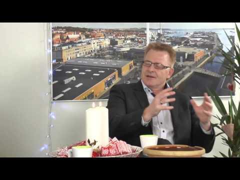 Peter Sørensen besøger Julestudiet på TV Horsens