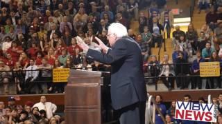 Bernie Sanders in Topeka, Kansas