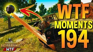 PUBG Funny WTF Moments Highlights Ep 194 (playerunknown's battlegrounds Plays)