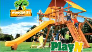 Superior Quality Outdoor Wooden Swing Sets By Playn Wisconsin