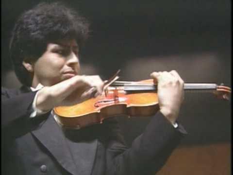 Erasmo Capilla (young) - Sibelius violin concerto - 1rst pt1