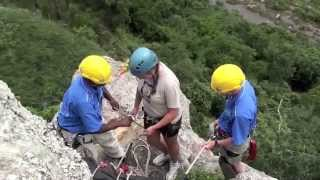 Abseiling Sweetdale Camp