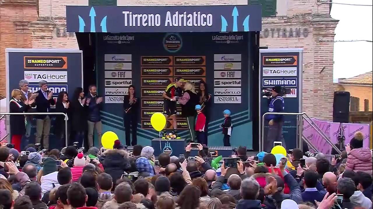 c25e34378a4 Tirreno Adriatico 2018 - Highlights - Stage 5 - YouTube
