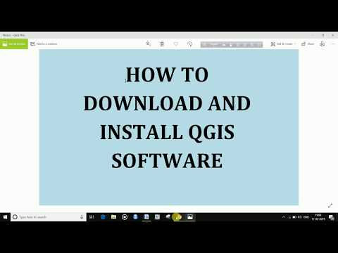 DOWNLOAD AND INSTALL QGIS SOFTWARE