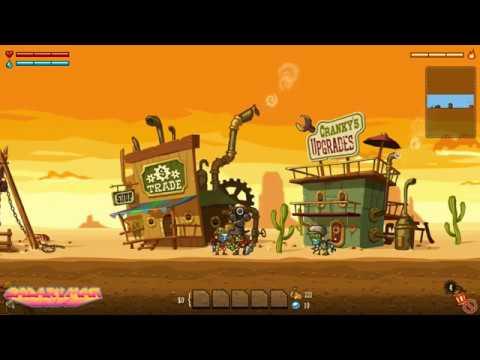 Steam world dig 1 จุดเริ่มต้นของนักขุด (Nintendo switch)