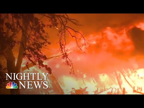 Deadly Wildfire Ravages Northern California | NBC Nightly News