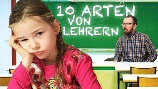 VIEL zu GEMEIN 😫  10 ARTEN LEHRER 📚  Lulu & Leon - Family and Fun