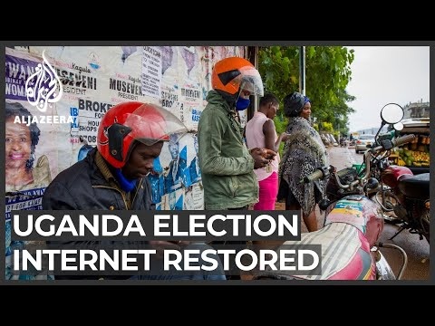 Uganda vote: Internet partially restored but social media blocked