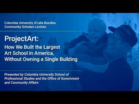 Community Scholars Lecture: ProjectArt Founder Adarsh Alphons