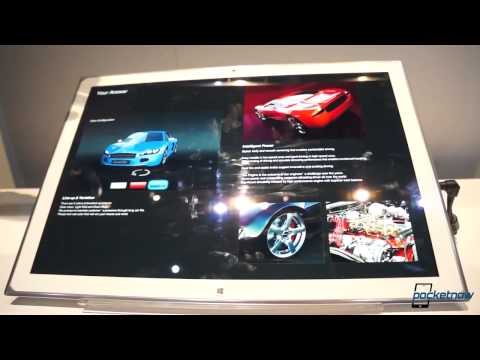 Panasonic 20 Inch 4K Windows 8 Tablet