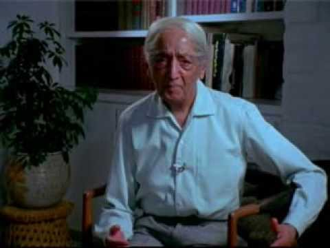 J. Krishnamurti - The challenge of change