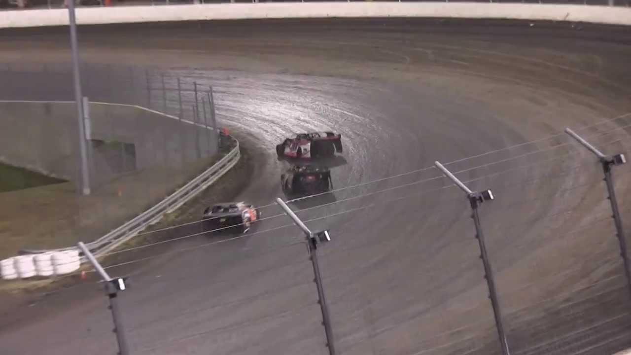 Texas Motor Speedway Dirt track 3 7 14 Outlaw Mod Heat 1