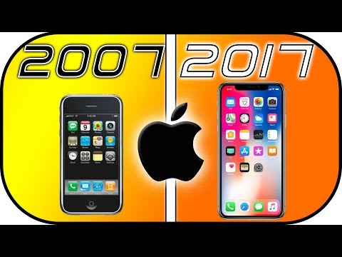 EVOLUTION of iPHONE (2007-2017) History of iPhone ads.