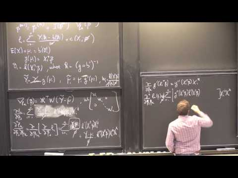 24. Generalized Linear Models (cont.)