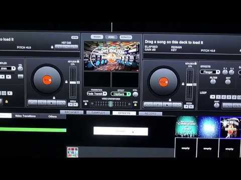 Virtual DJ Help - Sepperate Screen For Video