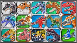 Dino Toy War Robot Corps - 15 Dinosaur Robot - Full Game Play - 1080 HD