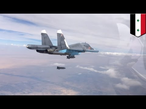 Syria: Russian jets mistake U.S.-backed forces for ISIS, launch airstrikes - TomoNews