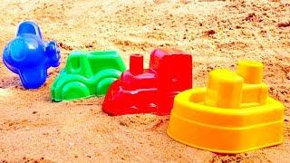 Download Развивающие мультики для малышей. Лепим куличики и Учим цвета Mp3 and Videos