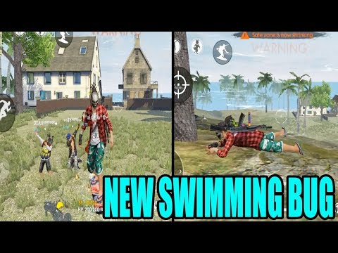 NEW SWIMMING BUG | FREE FIRE NEW BUGS  | TELUGU GAMING ZONE