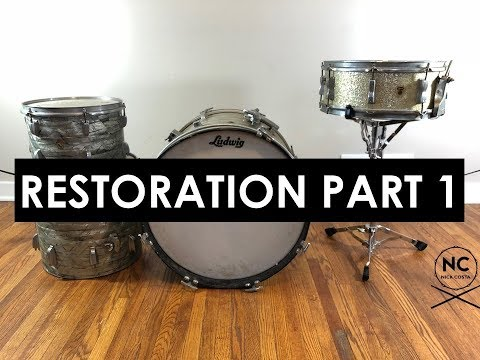 1967 Ludwig Downbeat Restoration (Part 1)