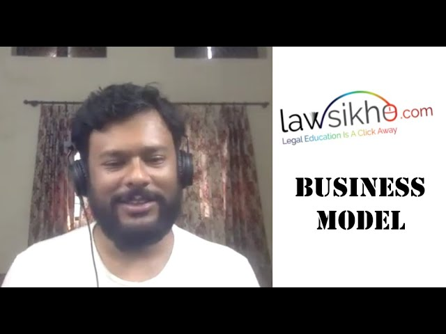 What is LawSikho's business model??