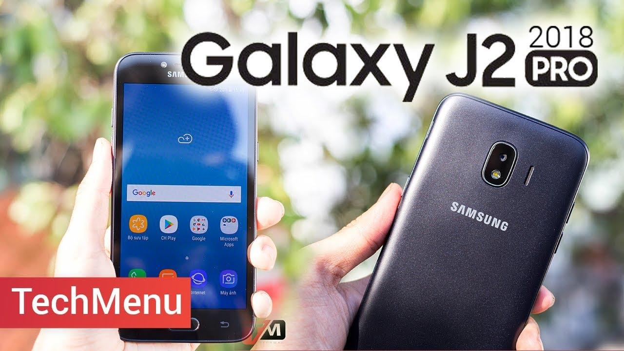 Trên tay Galaxy J2 Pro (2018) hàng rẻ có chất không? ||TechMenu ||TECHMAG
