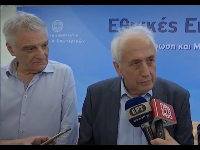 Δήλωση του ΥΠΕΣ, Αντώνη Ρουπακιώτη, κατά τη γενική δοκιμή της εκλογικής διαδικασίας | 5.7.2019