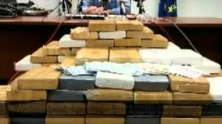 Cocaine bust in Greece