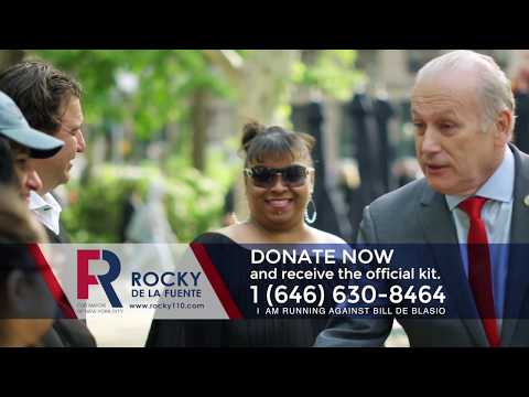 Rocky De La Fuente: Help us to change the future of NYC