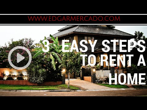 rent a house or an apartment in 3 easy steps youtube. Black Bedroom Furniture Sets. Home Design Ideas