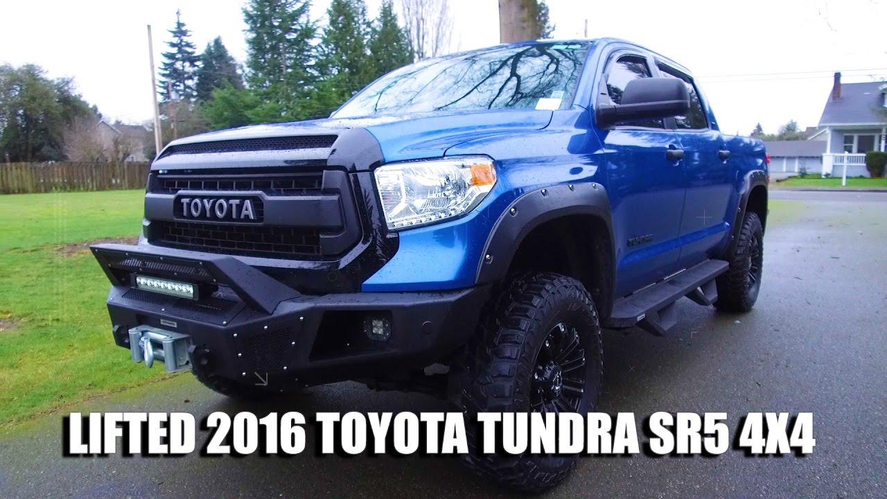 Lifted Tacoma For Sale >> LIFTED 2016 TOYOTA TUNDRA SR5 4X4 - YouTube