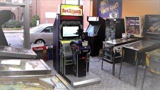 Dark Silhouette Silent Scope 2 Arcade Game !  Cabinet, Gameplay, Scope Video