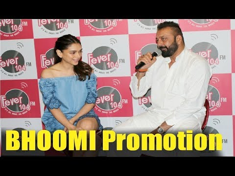 Sanjay Dutt New Movie BHOOMI Promotion...