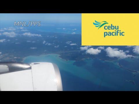 (MJT GLOBAL)  MANILA TO PUERTO PRINCESA, PALAWAN - CEBU PACIFIC AIRBUS A320 (19K PHILIPPINES TRIP)