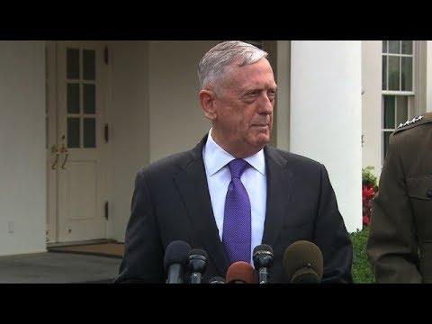 Mattis responds to North Korea bomb test