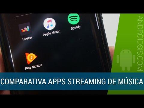 Los 4 mejores servicios de música en streaming
