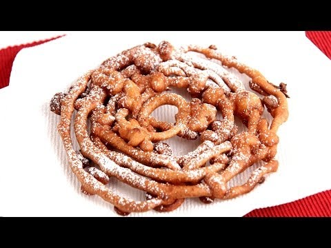 Homemade Funnel Cake Recipe - Laura Vitale - Laura in the Kitchen Episode 772