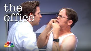 Jim's Radio Prank on Dwight - The Office
