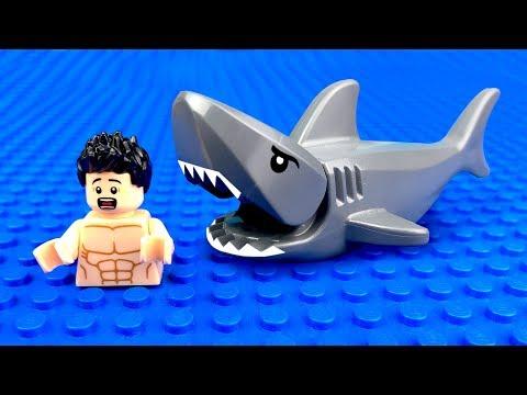 Мультфильм про акул лего