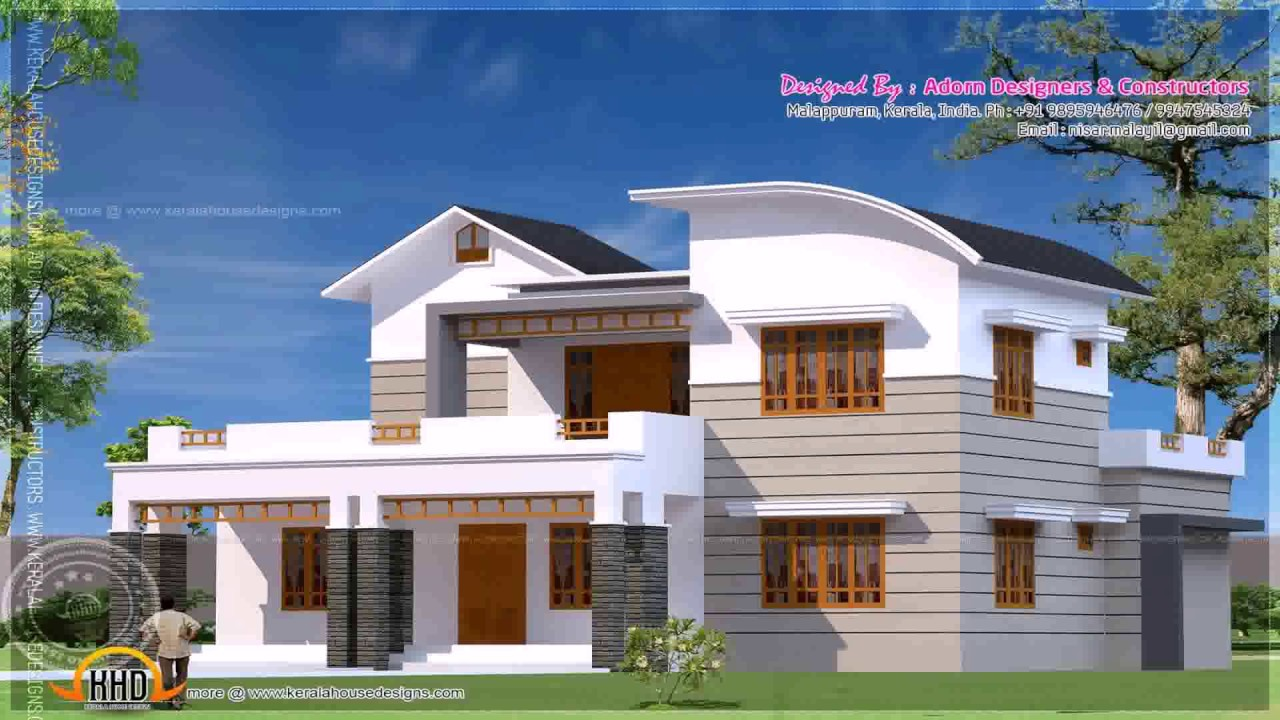 House plans kerala style below 2000 sq ft youtube for Kerala model house plans 1000 sq ft