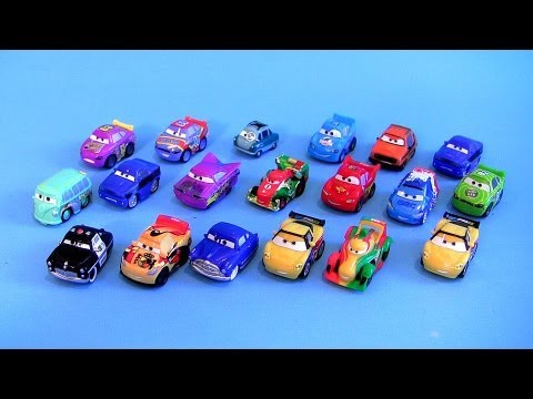 Micro Drifters Toy Surprise Bags CARS 2 Gold Francesco Bernoulli Disney Pixar toys Rip Clutchgoneski