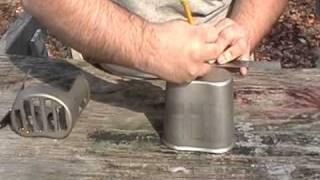 Diy Grill Top Canteen Stove Build Along Tutorial