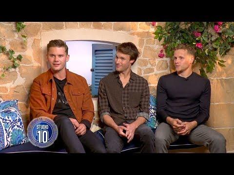 Mamma Mia! 2 Exclusive: Jeremy Irvine, Hugh Skinner & Josh Dylan  Studio 10