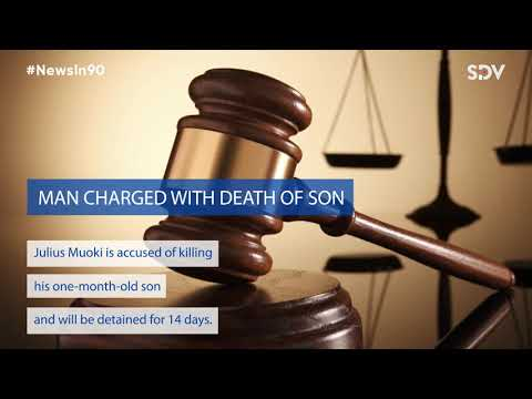 Man charged with death of son # News In 90