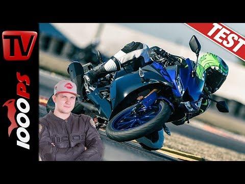 Der beste A1 Supersportler? Yamaha YZF-R125 Test in der Stadt und auf der Rennstrecke!