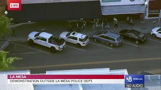 La Mesa Police Department Demonstration: May 29, 2020