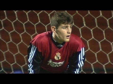 Young Iker Casillas (Real Madrid) - vs. Al Nassr - Fifa Club World Cup (Brazil 2000)